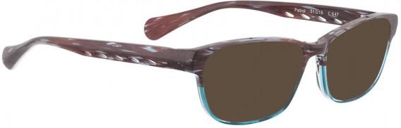 BELLINGER PATROL sunglasses in Purple Turquoise