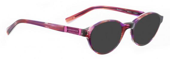 BELLINGER BOUNCE-1 sunglasses in Pink Tortoise