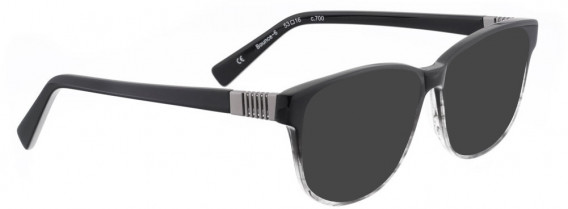 BELLINGER BOUNCE-6 sunglasses in Black/Clear Grey
