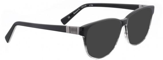BELLINGER BOUNCE-6 sunglasses in Black/Clear Grey