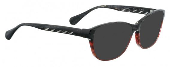 BELLINGER GREEK sunglasses in Black/Red Pattern