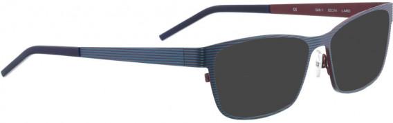 BELLINGER GRILL-1 sunglasses in Navy Blue