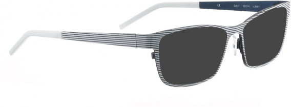 BELLINGER GRILL-1 sunglasses in Silver Grey