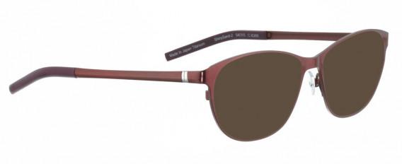 BELLINGER SHINYSAND-2 sunglasses in Purple