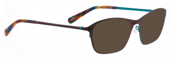 BELLINGER STELLA-4 sunglasses in Dark Red