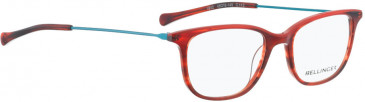 BELLINGER LESS1812 glasses in Transparent Grey