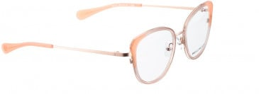 BELLINGER ARC-X1-48 glasses in Rose Transparent
