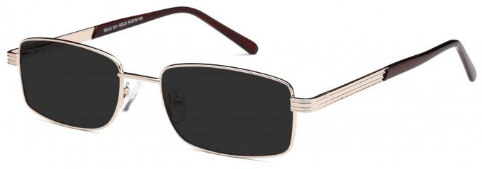 SFE Large Metal Sunglasses