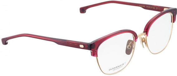ENTOURAGE OF 7 SCARLETT glasses in Red