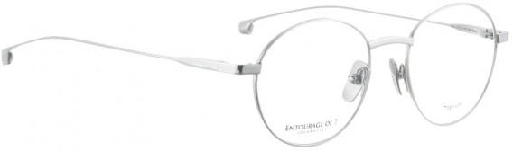 ENTOURAGE OF 7 RIKO glasses in Shiny Silver