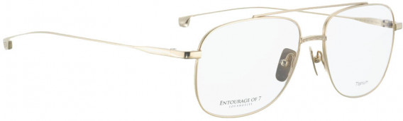 ENTOURAGE OF 7 REO glasses in Shiny Gold
