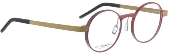 ENTOURAGE OF 7 NAPA glasses in Aubergine