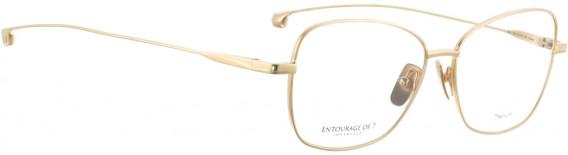 ENTOURAGE OF 7 MIYU glasses in Shiny Gold