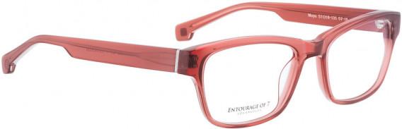 ENTOURAGE OF 7 MAYA glasses in Red Crystal