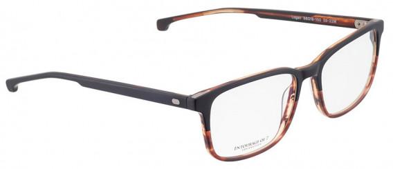 ENTOURAGE OF 7 LOGAN glasses in Matt Brown/Black