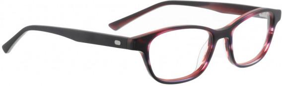 ENTOURAGE OF 7 LINDSAY glasses in Dark Grey/Red