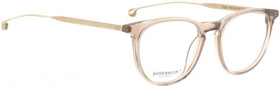 ENTOURAGE OF 7 KAYLA glasses in Pink Transparent