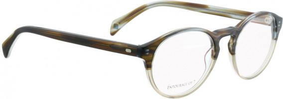 ENTOURAGE OF 7 KALLEXL glasses in Brown/Blue Crystal