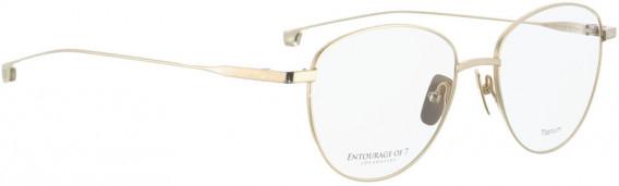 ENTOURAGE OF 7 HANA glasses in Shiny Gold