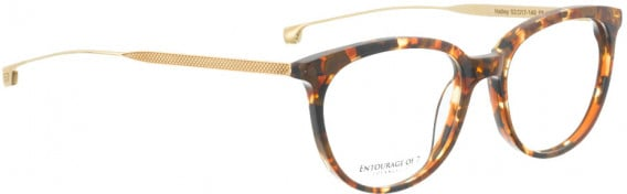 ENTOURAGE OF 7 HAILEY glasses in Brown Pattern