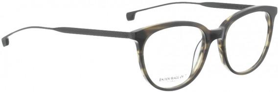 ENTOURAGE OF 7 HAILEY glasses in Dark Brown Transparent