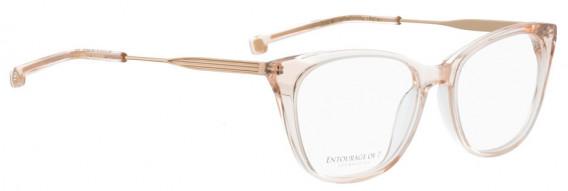 ENTOURAGE OF 7 FLORA glasses in Brown Transparent