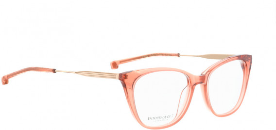 ENTOURAGE OF 7 FLORA glasses in Pink Transparent