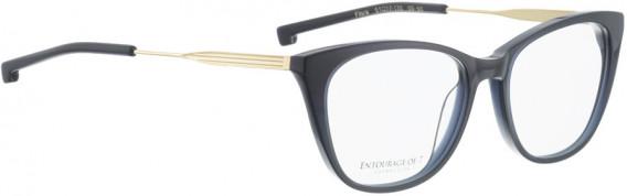 ENTOURAGE OF 7 FLORA glasses in Dark Blue Transparent