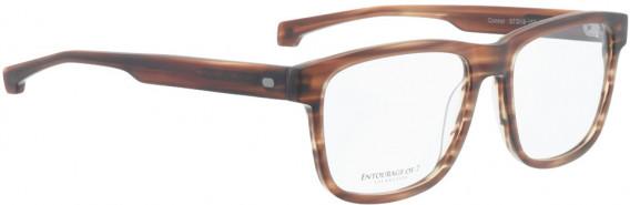 ENTOURAGE OF 7 CONNOR glasses in Matt Brown Pattern