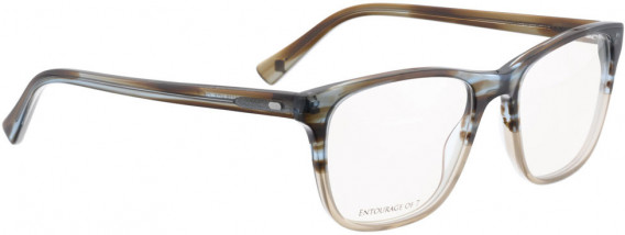 ENTOURAGE OF 7 CLIFF glasses in Brown/Blue Crystal