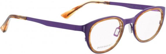 ENTOURAGE OF 7 CENTURY glasses in Purple/Light Tortoise
