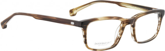 ENTOURAGE OF 7 BRYAN glasses in Brown Pattern