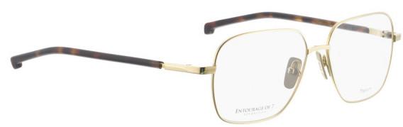 ENTOURAGE OF 7 ASAHI glasses in Gold