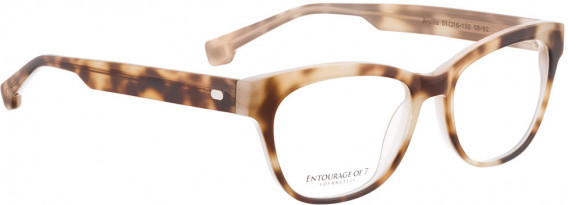 ENTOURAGE OF 7 ARCILLA glasses in Brown Pattern