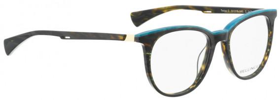 BELLINGER TWIGS-3 glasses in Dark Green Pattern