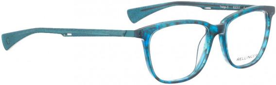BELLINGER TWIGS-2 glasses in Blue Pattern