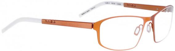 BELLINGER TUBE-2 glasses in Metal Orange