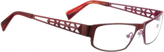 BELLINGER TRAPEZ-1 glasses in Shiny Red
