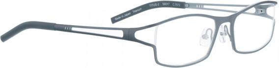 BELLINGER TITUS-2 glasses in Shiny Grey