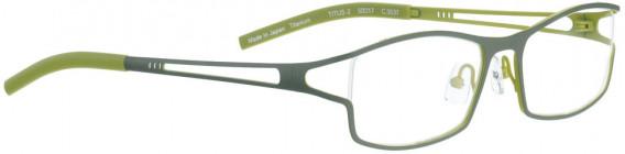 BELLINGER TITUS-2 glasses in Olive Green