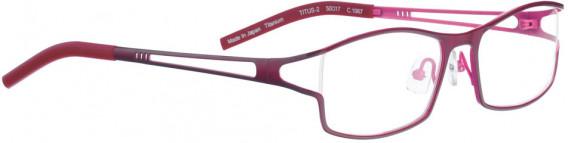 BELLINGER TITUS-2 glasses in Dark Pink