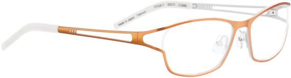 BELLINGER TITUS-1 glasses in Metal Orange