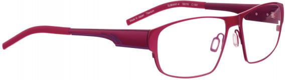 BELLINGER SUBWAY-4 glasses in Shiny Red