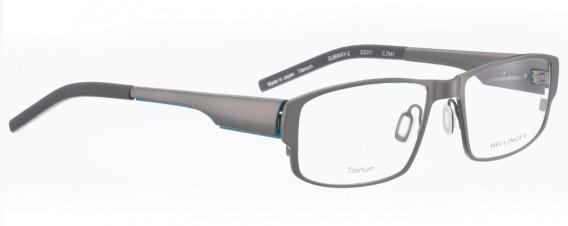 BELLINGER SUBWAY-2 glasses in Shiny Grey