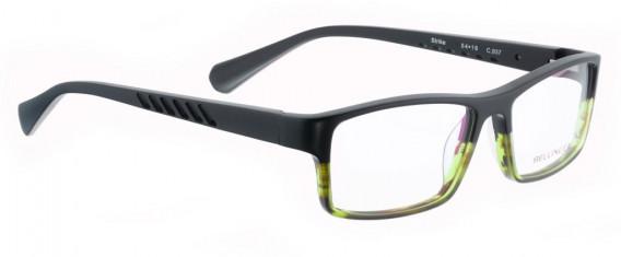 BELLINGER STRIKE glasses in Matt Black/Green
