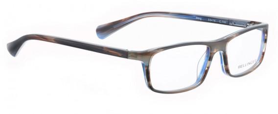 BELLINGER STING glasses in Matt Grey/Blue Pattern