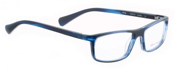 BELLINGER STING glasses in Matt Blue Pattern