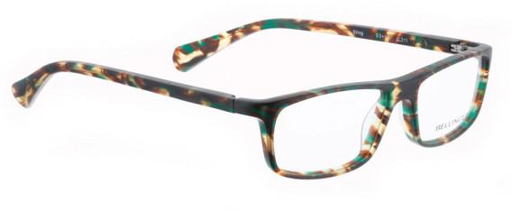 BELLINGER STING glasses in Matt Brown/Green Pattern