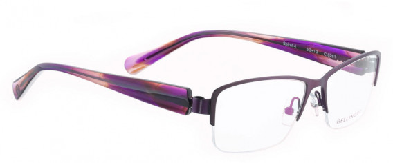 BELLINGER SPIRAL-4 glasses in Purple Pearl