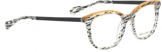 BELLINGER SOBA glasses in Black White Pattern